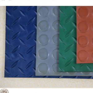 colorful mouled rubber sheet from iksonic