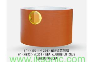 manufacturer of NBR Iron-core Rubber Roller 6inch iksonic.com