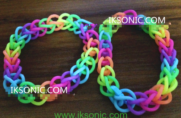 Hand made Silicone O-ring Bracelet Necklace Jewelry DIY