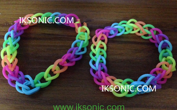 Silicone o ring Bracelet Necklace Jewelry DIY soft