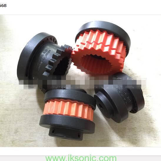 red teeth TYPE Coupling elastomer and custom the Non-standard rubber part for couplings equipment