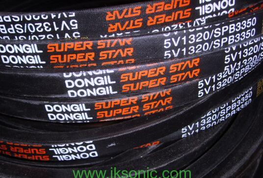 Dongil super star red logo with white model number factory China V Belts