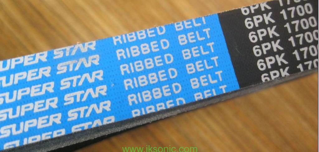 Korea Dongil super star Ribbed Belt 6pk 1700 V belt