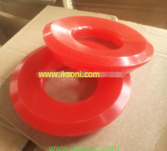 Polyurethane seal ring valve rubber for Triplex Mud Pump PU with Steel casting