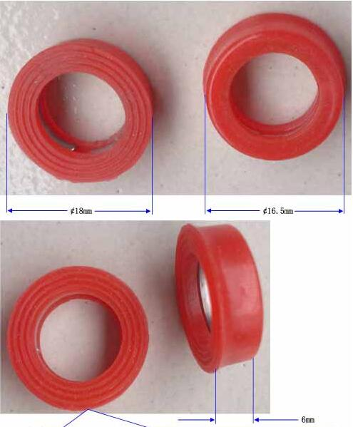 Iksonic Manufacture Fast Open Faucet Valve Core Gasket