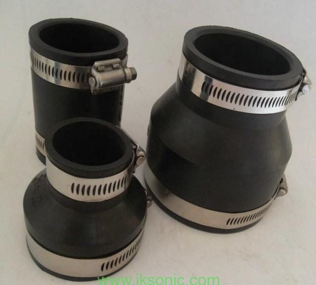 Fernco shielded couplings underground rubber pvc fernco coupling pipe fitting