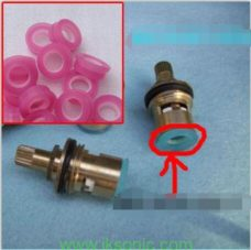 Tap valve quick opening of food-grade silicone gasket seal ring gaskets, seals flat pad rubber spool Accessories