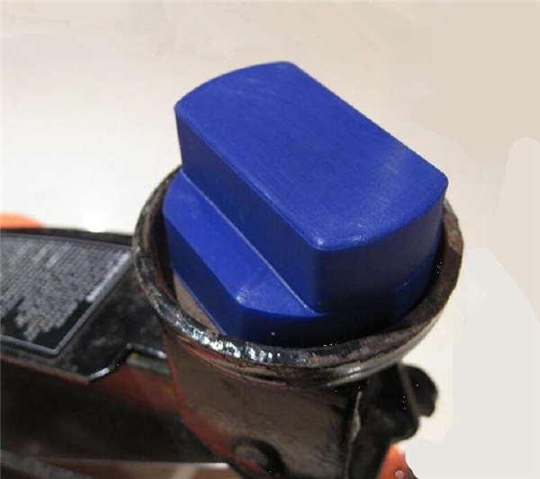 Polyurethane Jack Pad Jacking Pad Adapter Trolley
