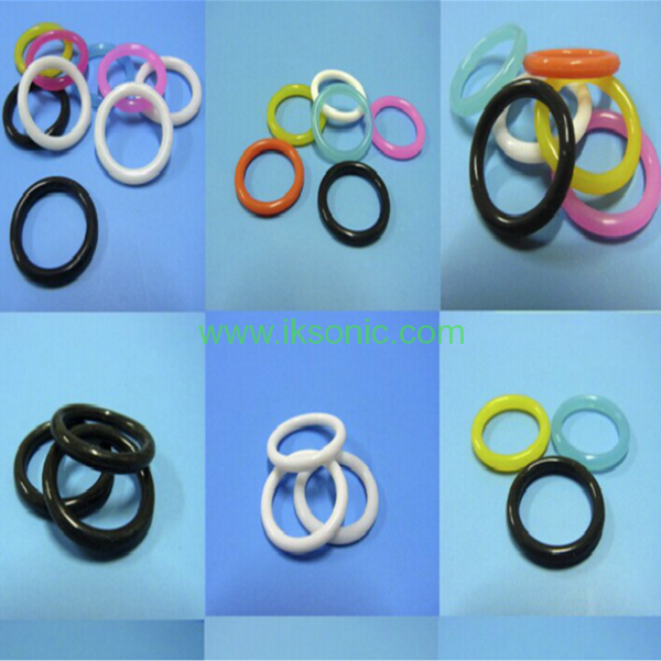 Colored rubber band o ring for decoration