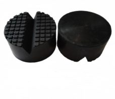 Heavy Weight Trolley Jack PadRubber Jack pad diameter 100mm height 50mm V groove 18mm for car jack