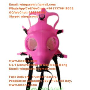 Best Bong Mask Bong Gas Mask tobacco Rubber Plastic full face gas mask bong pink glows smoking mask bong for sale smoke face mask water pipe