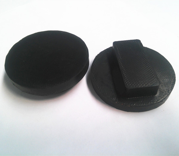 Universal Rubber Jack Pads Fabric Inserted for lifting car fabric reinforced rubber