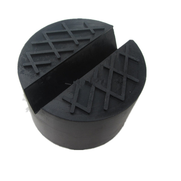 Universal Rubber Jack Pads Slot V Groove Trolley