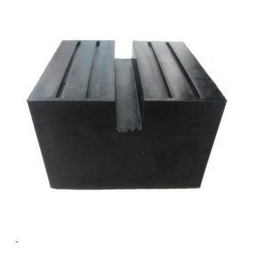 Universal Square Rubber Jack Pad Slot Groove 50mm Height
