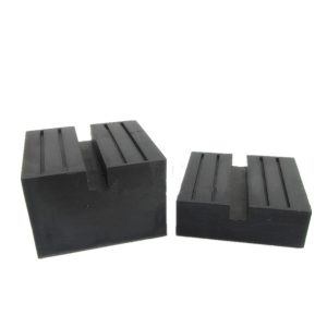 floor jack rubber pad Universal Square Rubber Jack Pad Slot Groove rubber block for jack car