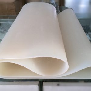 White Silicone Conveyor Belt Manufacturer for plastic bag machinery