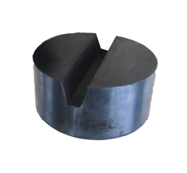 customized molded rubber jack pad slot V groove for jack auto