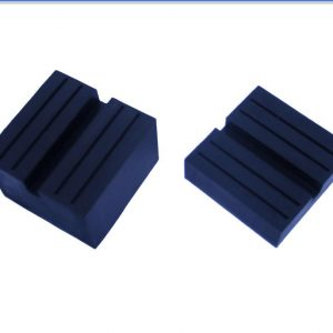 manufacturer of universal square rubber jack pad with slot for floor jack