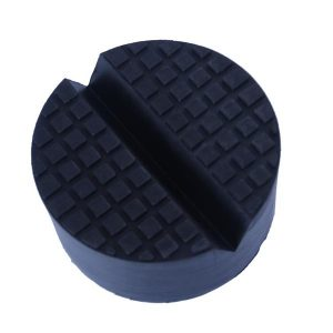 Rubber Jack Pad V Groove round rubber jack pad with slot v groove for floor jack