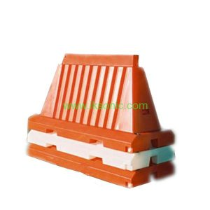 China manufacturer Stackable Plastic Traffic Barrier foldable water barriers protection