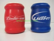 Colorful Foam Insulated Can Holder Foam Drink Can Cooler