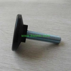 Industrial pedestal bolts, plastic bolts factory machine furniture foot rubber plastic pad metal screw foot level