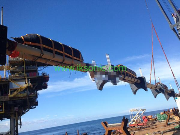 Rubber Bladder floating pipeline inflatable rubber airbag offshore pipe