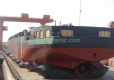 rubber airbag inflatable Boat ship launching water airbag bladder ship launching method