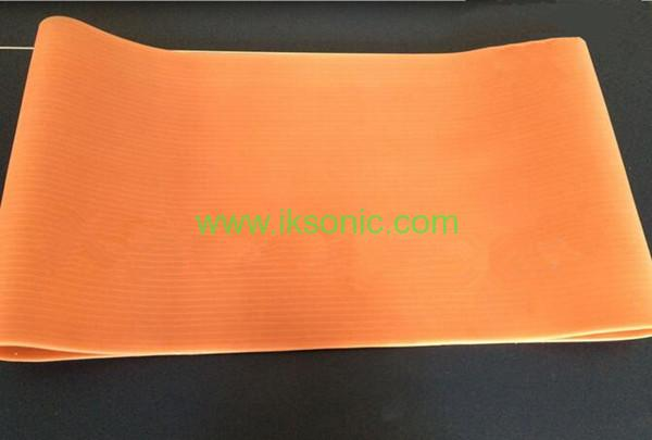 Silicone Conveyor Belt fabric inserted reinforced belt conveyor manufacturer supplier Red transparent silicone rubber plastic bag