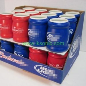 custom Foam Insulated Can Holder Foam Drink Can Cooler beer can holder sponge