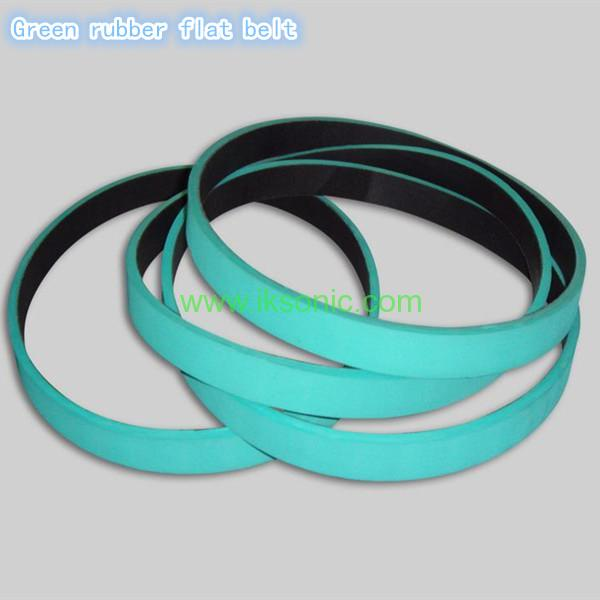 Electronic Rubber Belts : Flat rubber belt for transmission drive iksonic leading