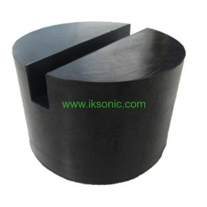 extra large slotted universal rubber jack pad frame Groove for lifting car heavy duty floor jack pad