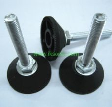 Rubber Leveler Feet Furniture Adjustable Feet Bolt foot pad machine furniture foot rubber plastic pad with metal screw foot level