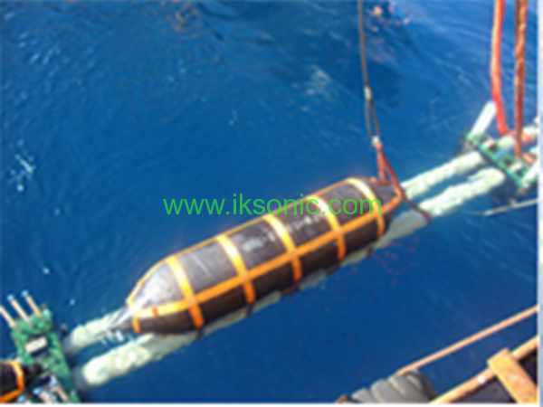 manufacturer Inflatable Rubber Airbag Rubber Bladder floating oil gas pipeline offshore