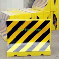 manufacturer Yellow Black Plastic Water Barrier road traffic safety security barriers