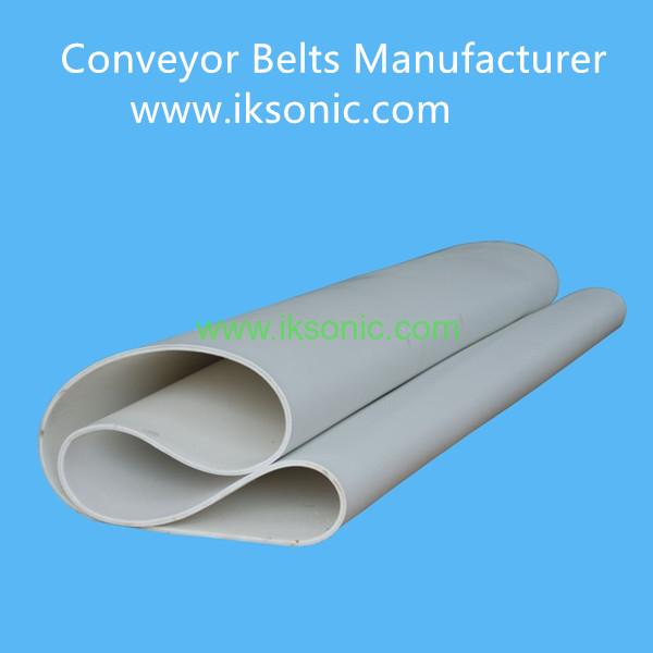 China factory silicone rubber heat resistant conveyor belt high temperature resistant rubber conveyor belts Manufacturer