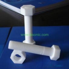 PTFE bolt thread screw teflon bolt plastic bolt manufacturer designer