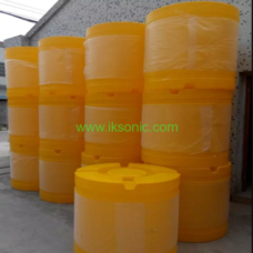 Rotational moulding road safety traffic crash barrels