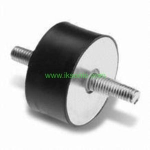 rubber vibration damper with screw