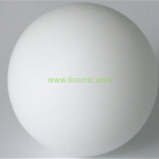 100% virgin polished plastic 1 inch teflon ptfe ball in stock
