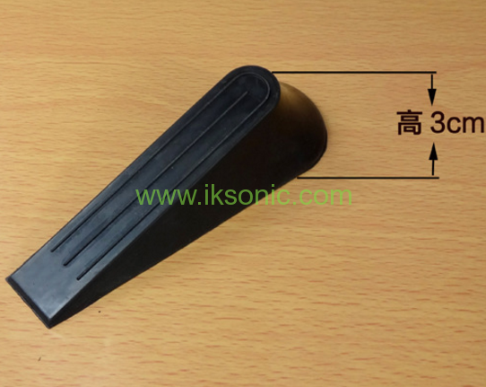 Blister card packed rubber door stopper