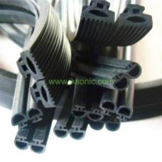 Installation glass curtain wall sealing rubber seal strip plastic