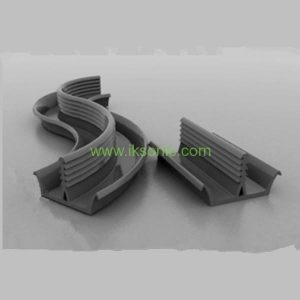curtain wall sealing strip TOB with clay pendant with rubber strips EPDM Clay plate seal