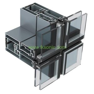 rubber seal Panel curtain wall aluminum glass seal