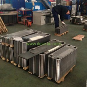 Manufacturer Frame heat exchanger plate and rubber gasket