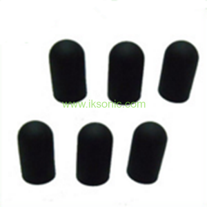 Touch screen conductive silicone rubber tips