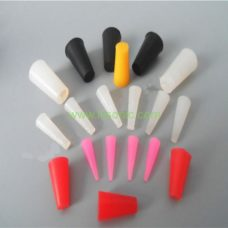 silicone plugs cone pull tapered rubber plug