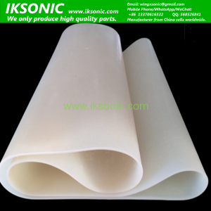 Customized high resistant oven food grade white Silicone Conveyor Belt