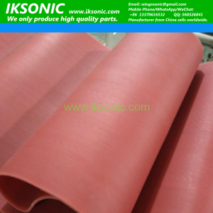 Disposable Gloves Machine Food Grade Red Silicone Conveyor Belt supplier