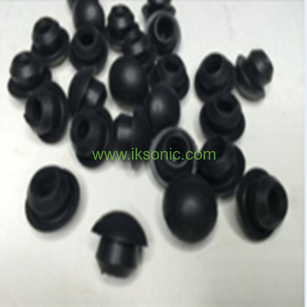 Black Silicone Rubber Cone Plug Rubber Pipe End